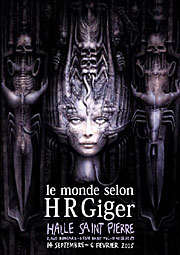 HR Giger exposition, Paris 2004-2005